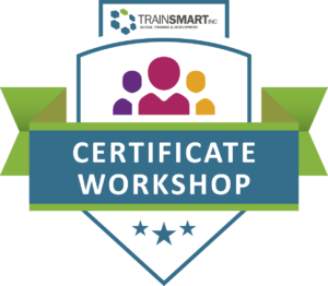 Certificate of Completion Badge For TrainSMART's 3-Day Train-The-Trainer Course